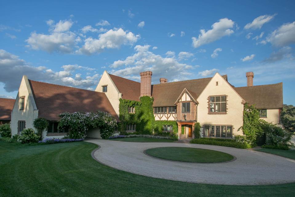 english country manor at 5200 armour ranch rd santa ynez valley california