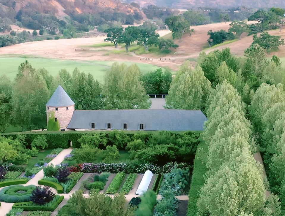 english country estate in california santa ynez wine country
