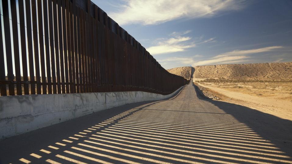 U.S. Border Wall Fence