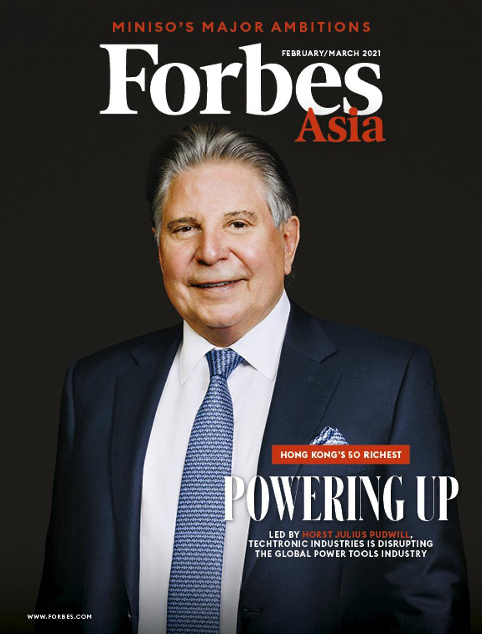 Forbes Asia Feb/Mar 2021 Cover