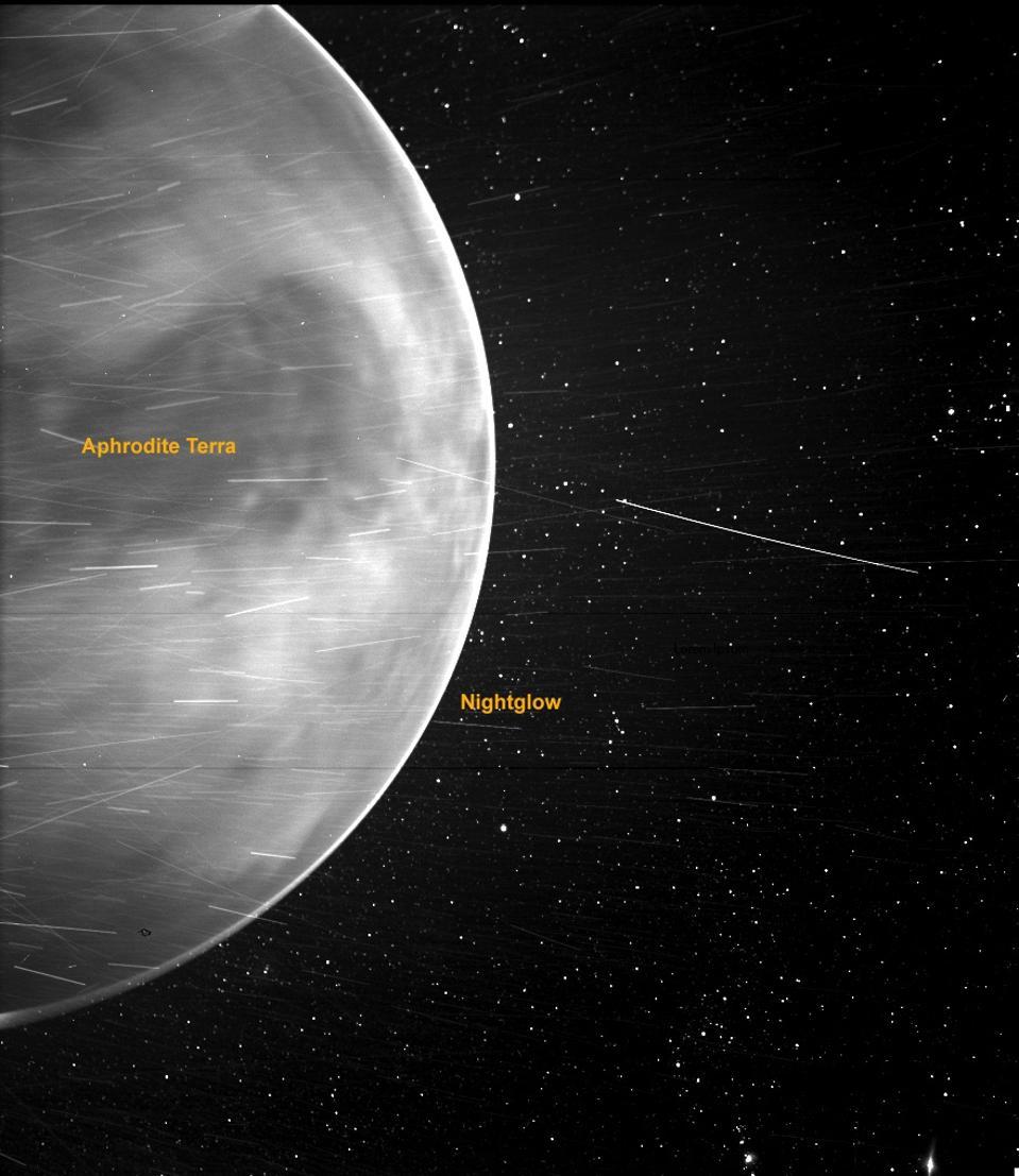 Venus flyby