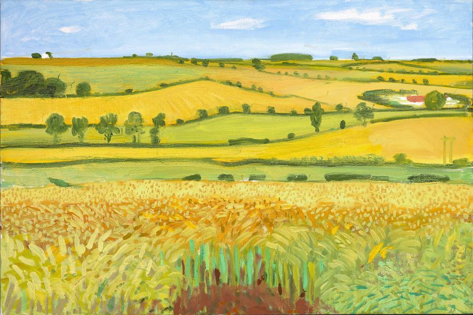David Hockney, Woldgate Vista.