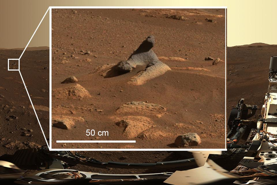 Mars rock Perseverance