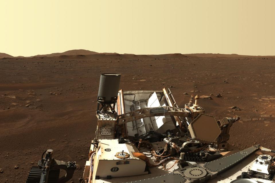 Perseverance Mars panorama