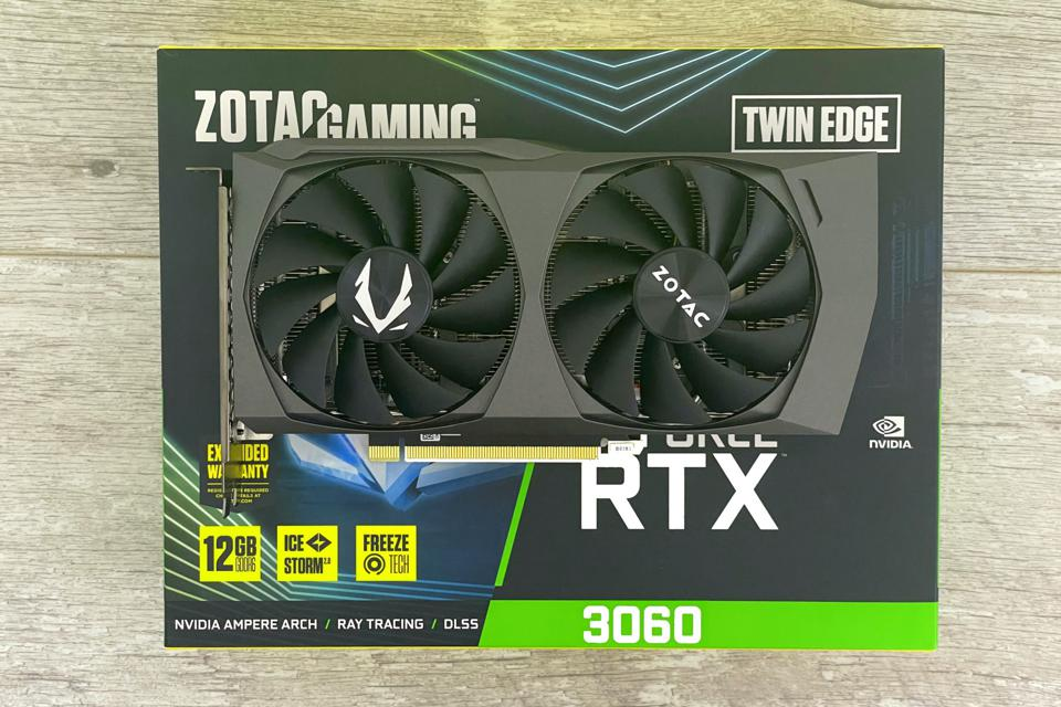 Zotac's RTX 3060 Twin Edge graphics card is one of many partner cards available in the absence of a Founders Edition model from Nvidia