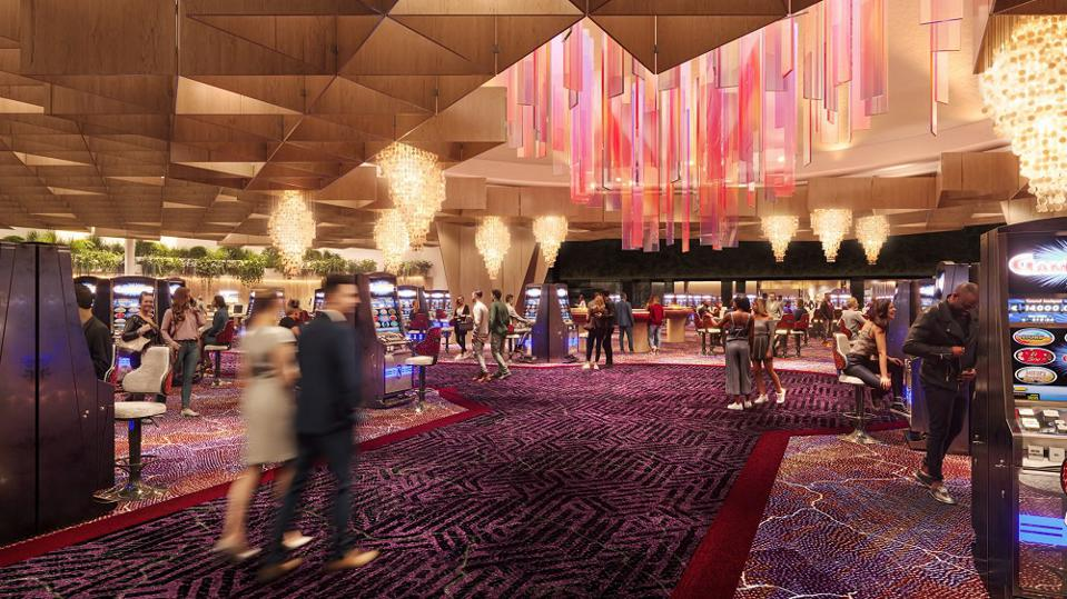 Newest Vegas Hotel Casino Opens Preview The Virgin Hotels Las Vegas