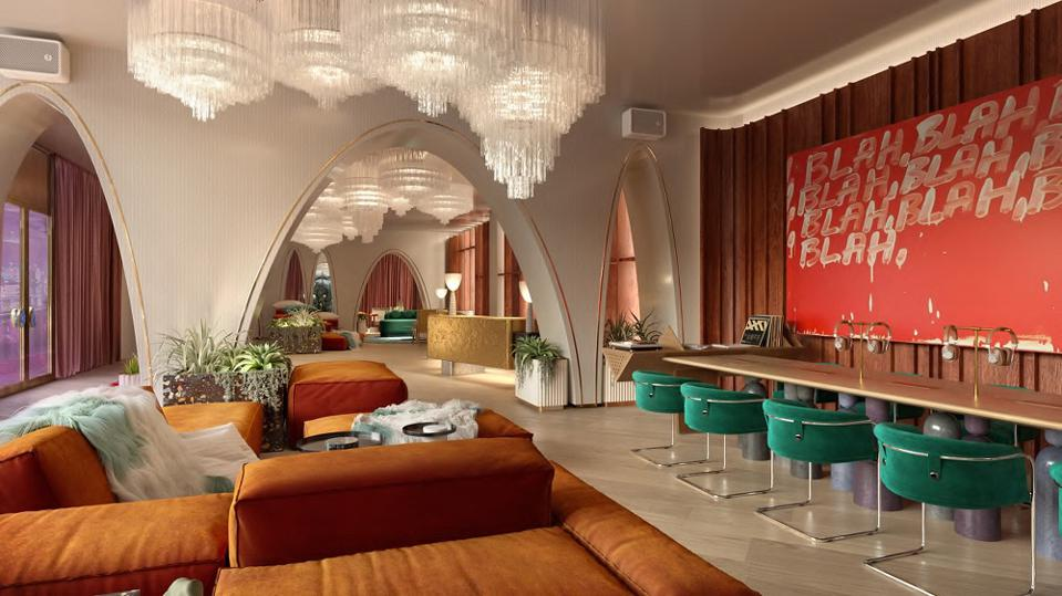 All-suite Ruby Tower at new Virgin Hotels Las Vegas