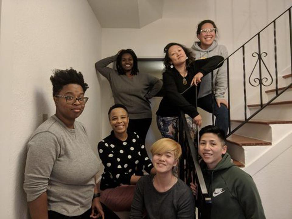 A group of Queer the Land founders and members