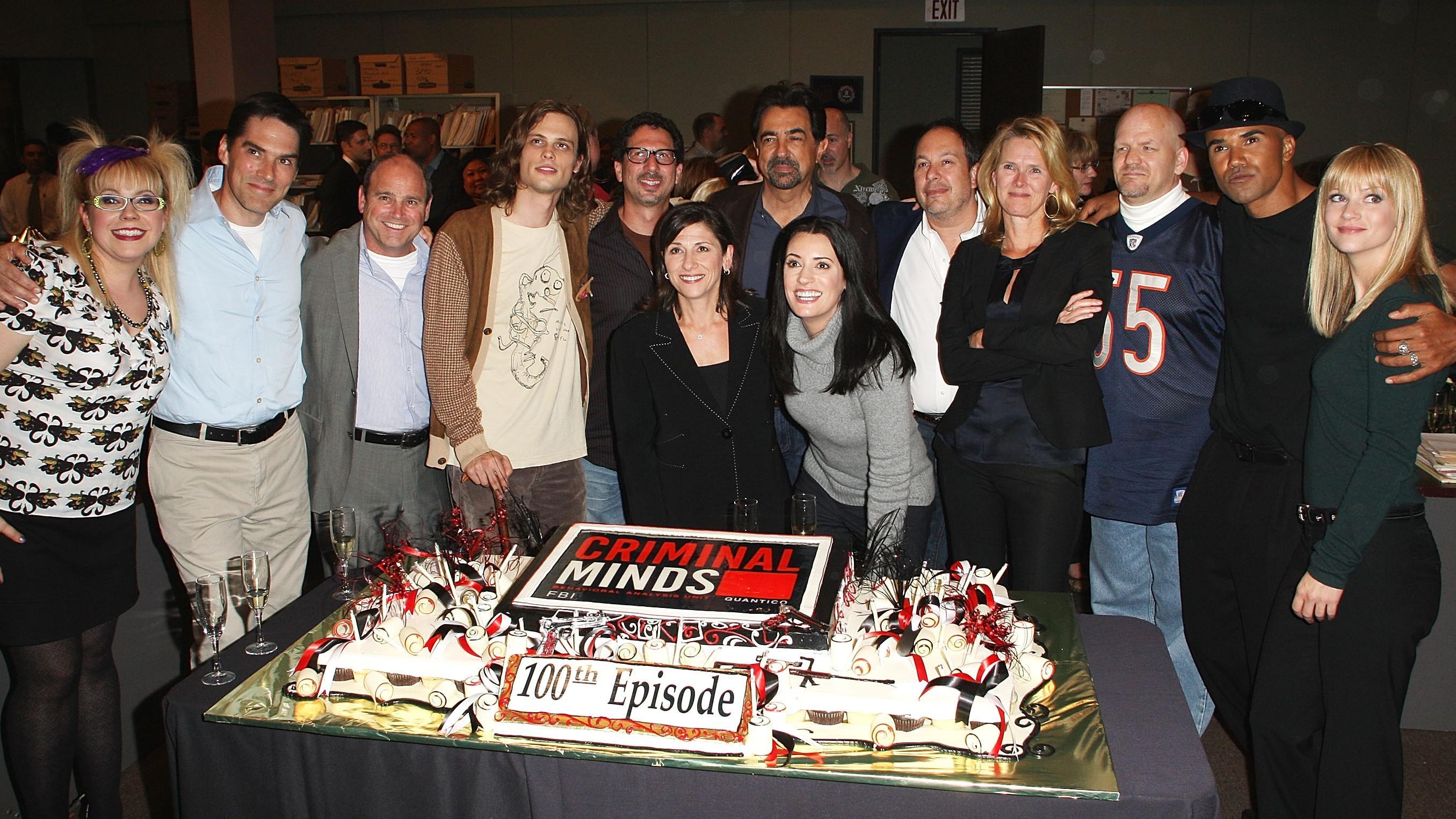 100th Episode Celebration For CBS' ″Criminal Minds″