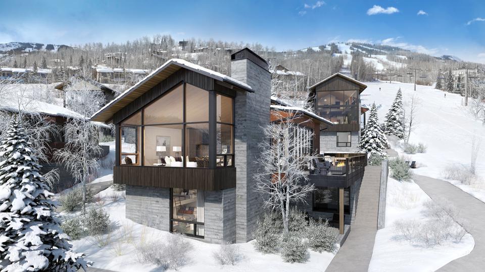 modern chalet at havens ski-in/ski-out development snowmass resort