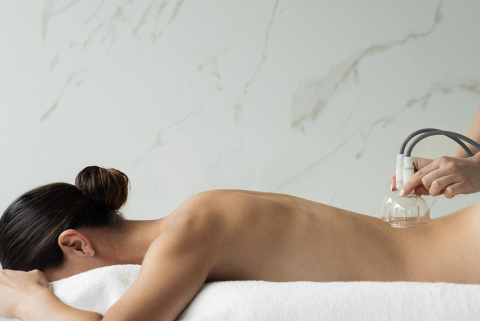 Treatments at the Chenot Spa