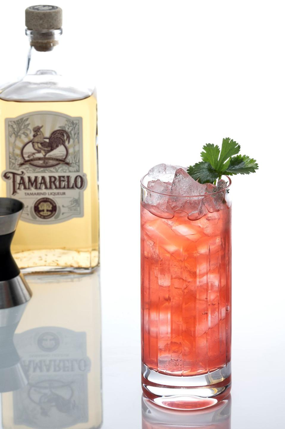 The Bird of Paradise is a refreshing and complex cocktail.