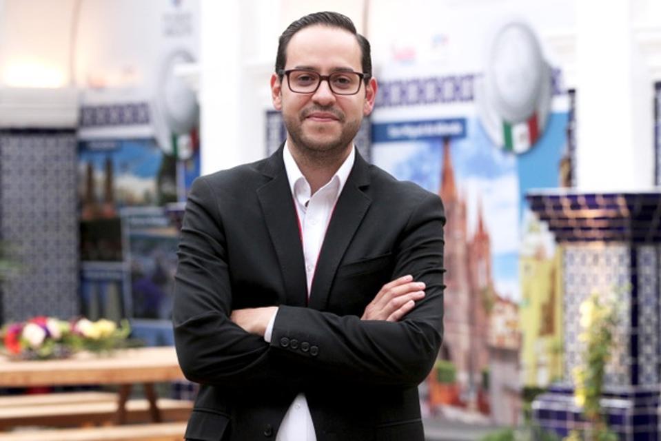 Carlos Borboa, Director of the México Selection by Concours Mondial de Bruxelle