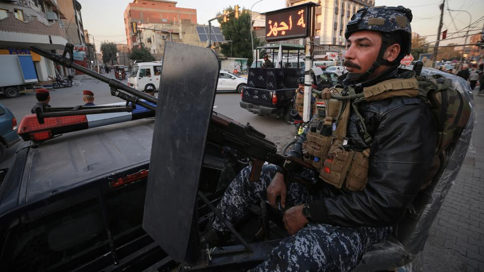 Security presence intensifies after rockets attack in Baghdad