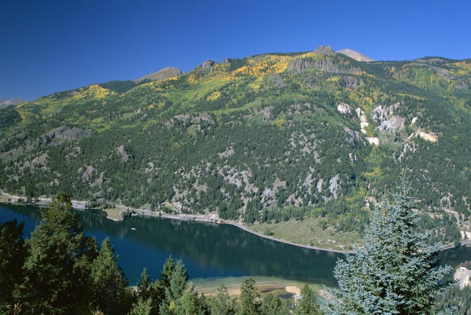 Lake San Cristobal, Silver Thread Scenic Byway, Colorado road trip