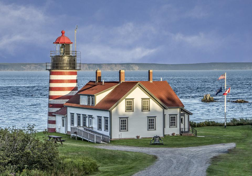 West Quoddy Head Light, Maine Bold Coast Scenic Byway