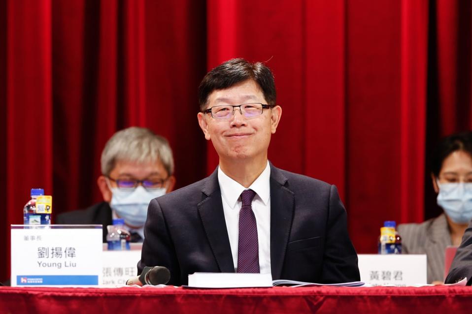 Hon Hai Chairman Young Liu Attends Company's AGM