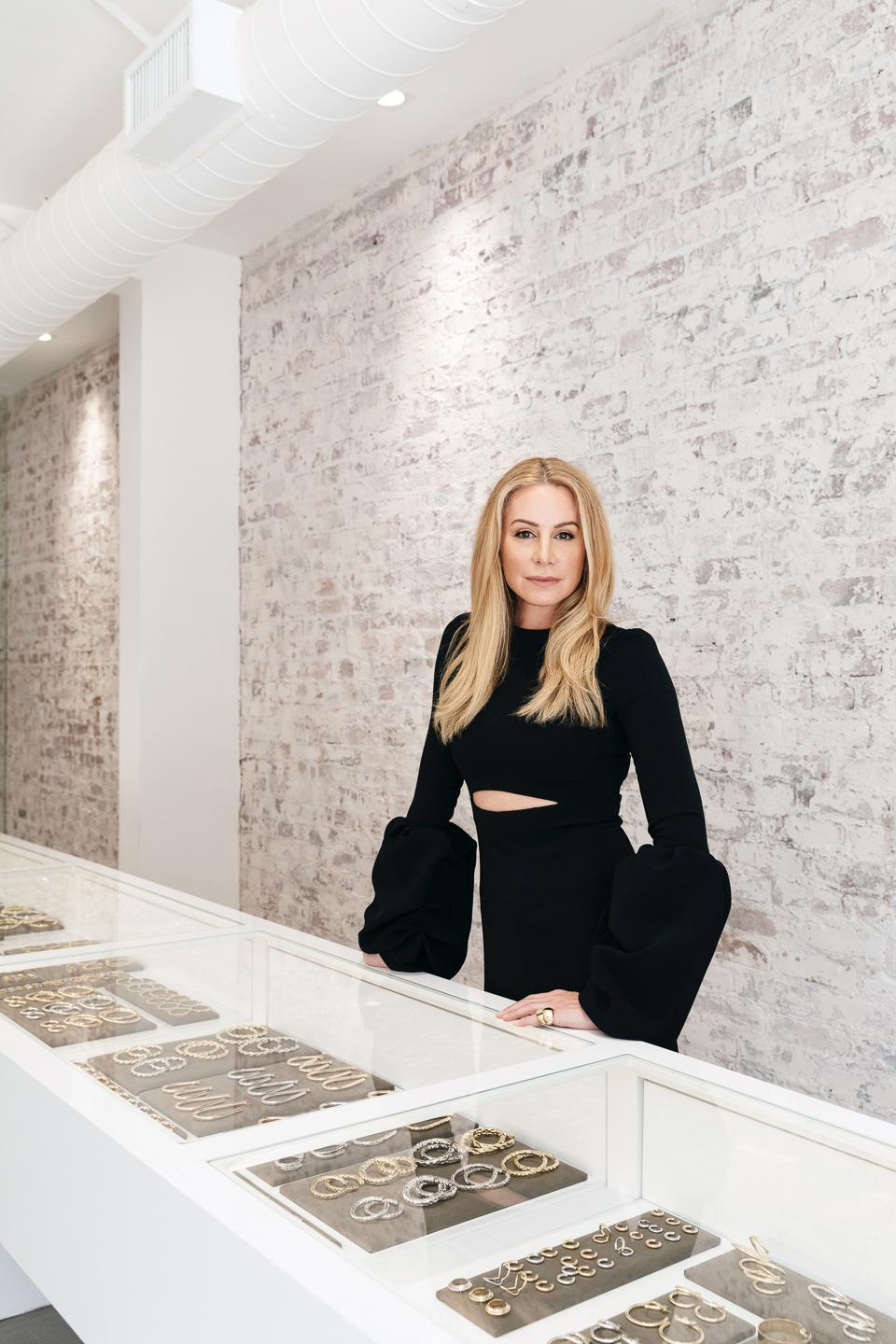 Jeweler Jennifer Fisher in her new Los Angeles flagship store