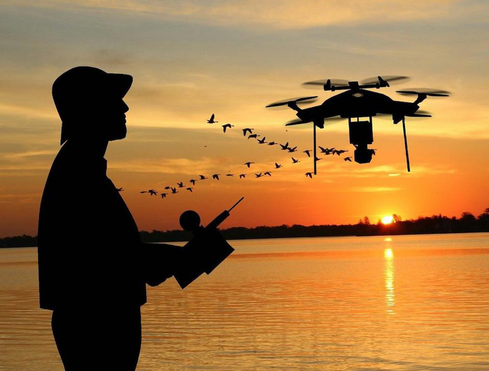 Drone in Autopilot Mode