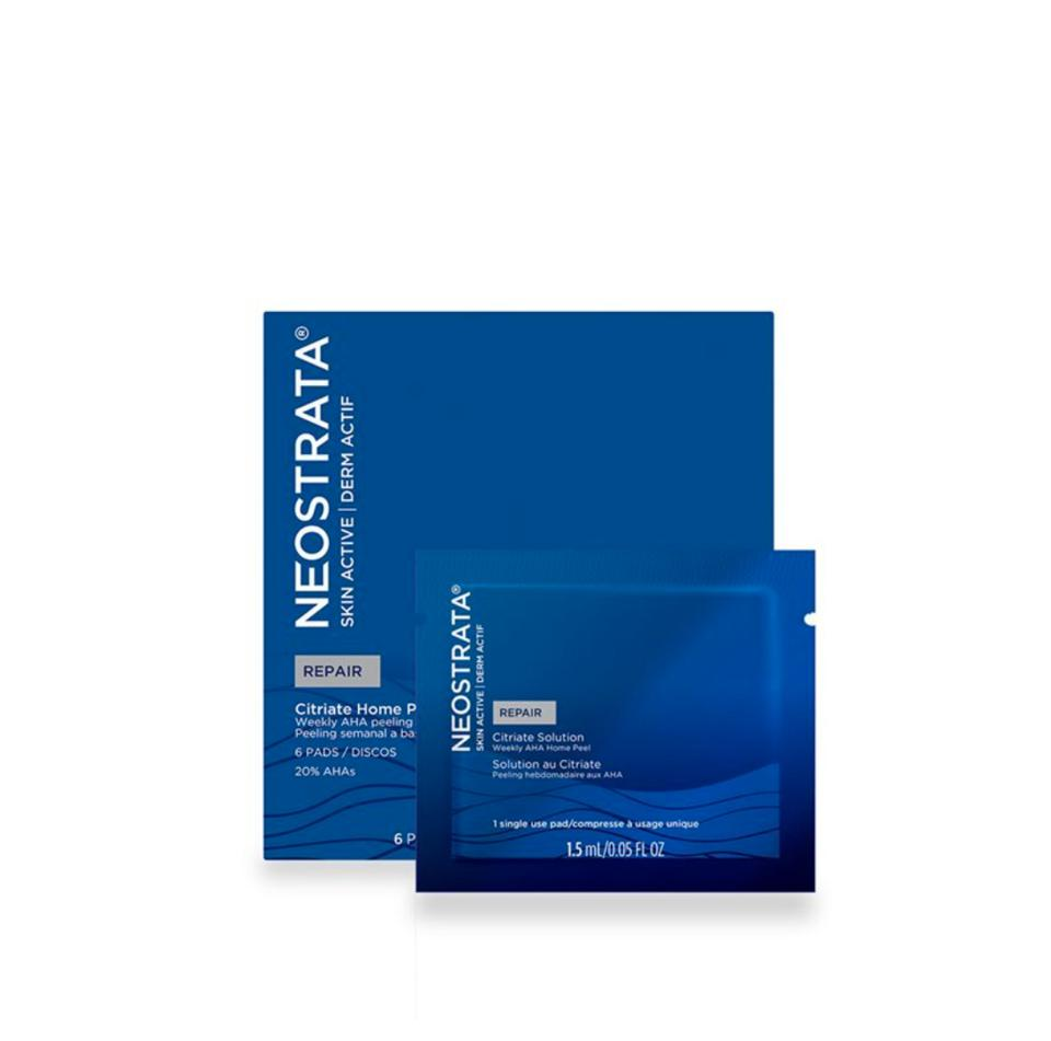Neostrata Citriate Home Peeling System in blue coloured box and sachet
