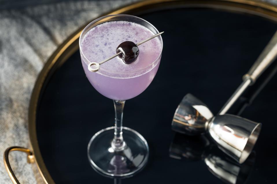 Boozy Refreshing Aviation Cocktail recipe