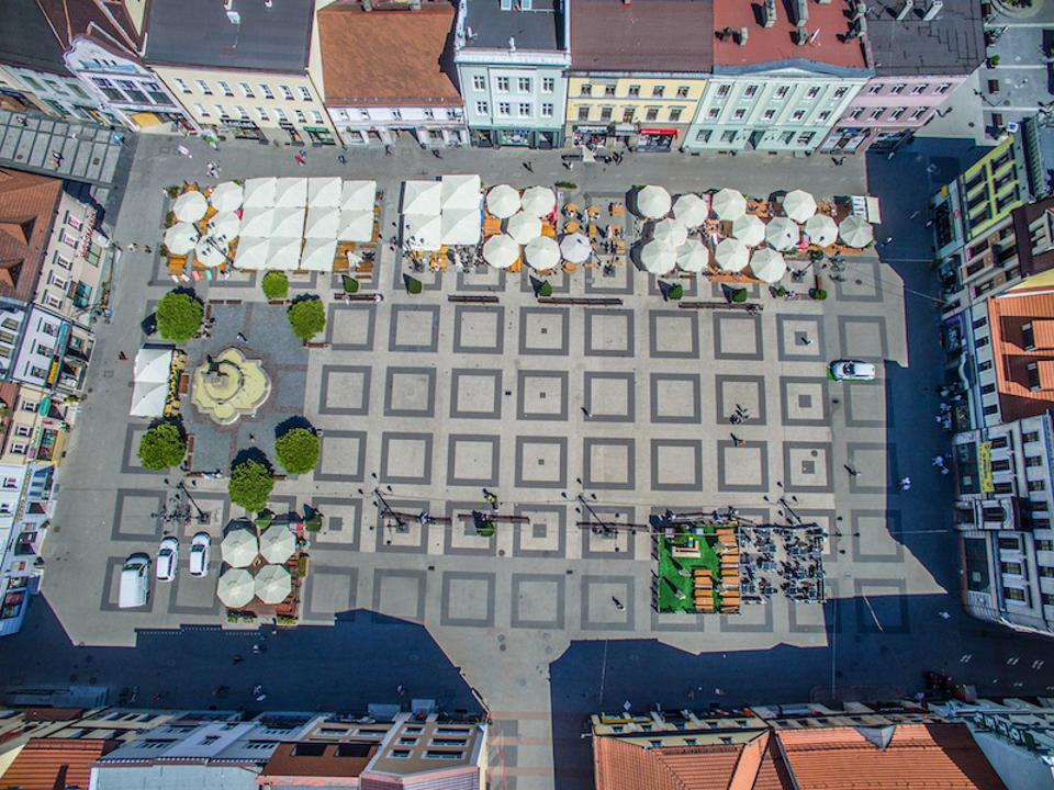 Rybnik from above