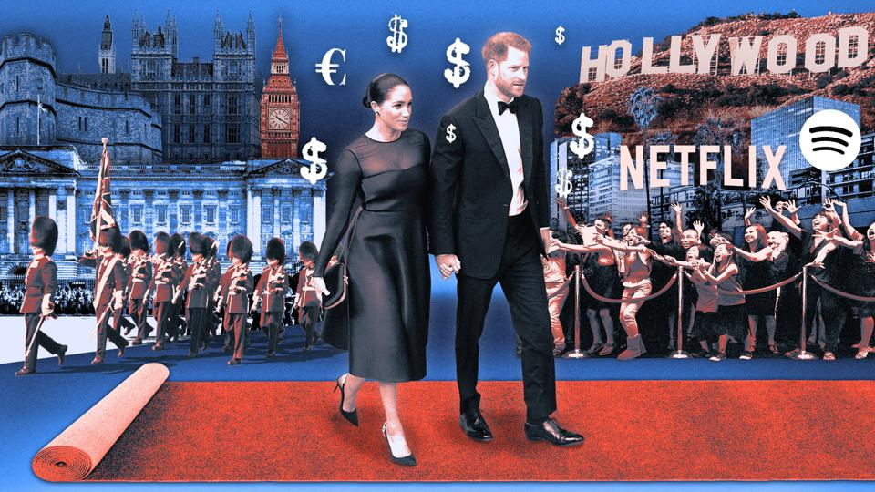 Prince Harry and Megan Markle embark on their Hollywood adventure