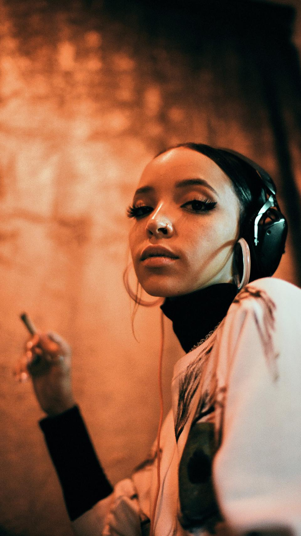 Singer Tinashe opens up about cannabis and creativity in the latest episode of 'High Tales.'