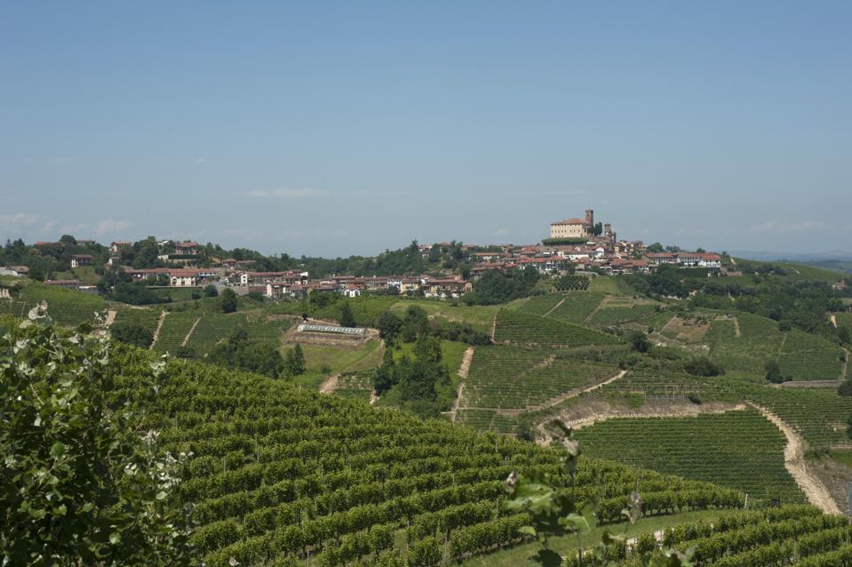Hills of Roero, Piedmont, Italy
