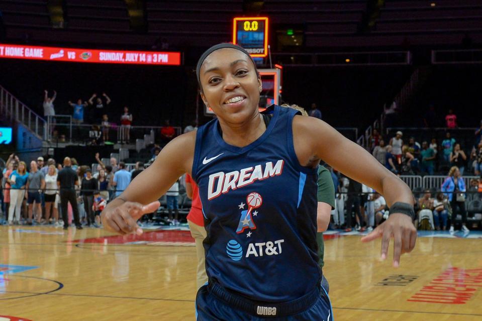WNBA: JULY 12 Minnesota Lynx at Atlanta Dream