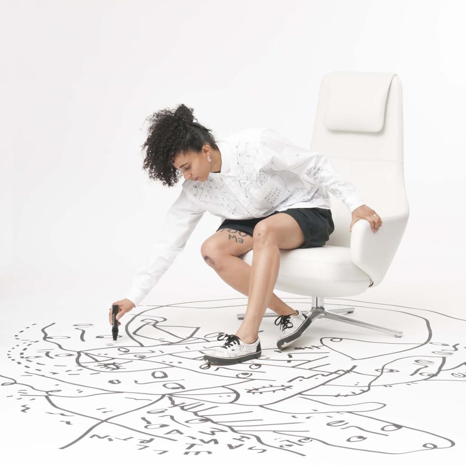 Shantell Martin, visual artist.