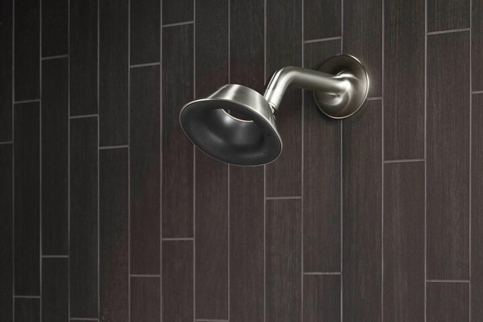 Kohler Moxie showerhead with built-in speaker