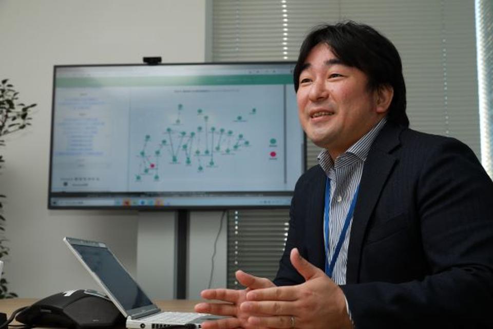 Kitano Hiroyuki, co-creator of SWC-AI