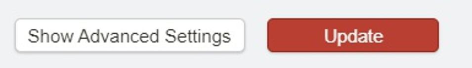 The LastPass settings 'show advanced settings' option dialogue
