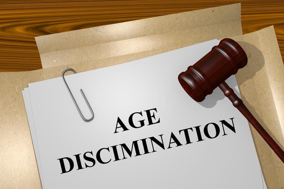 Age discrimination filing