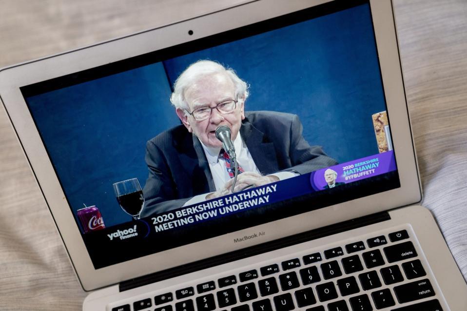 Berkshire Hathaway Holds Annual General Meeting Via Livestream