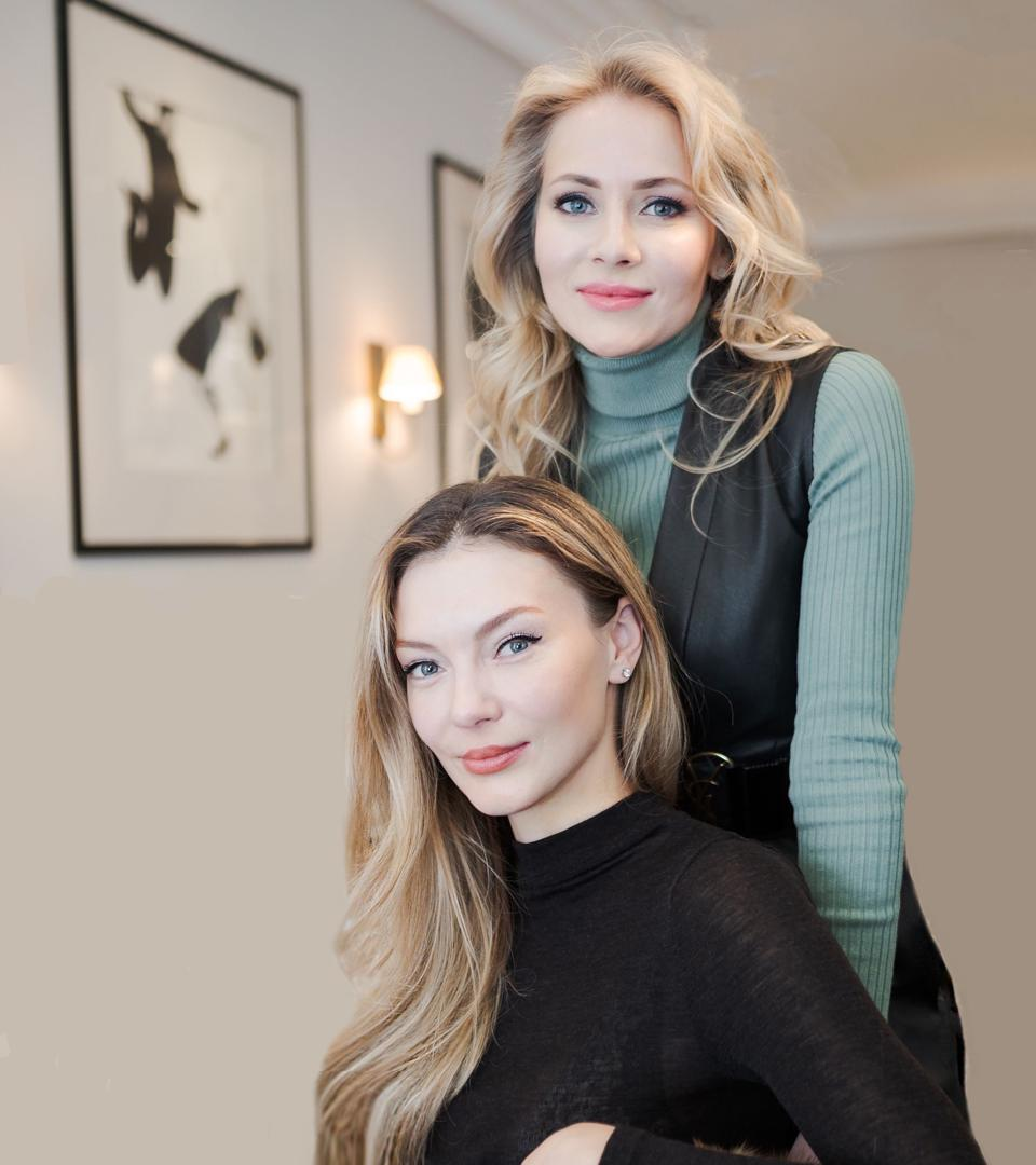 Boccara Art Galleries founder Liubov Belousova and Julia Bogichevich, director of the Moscow outpost.