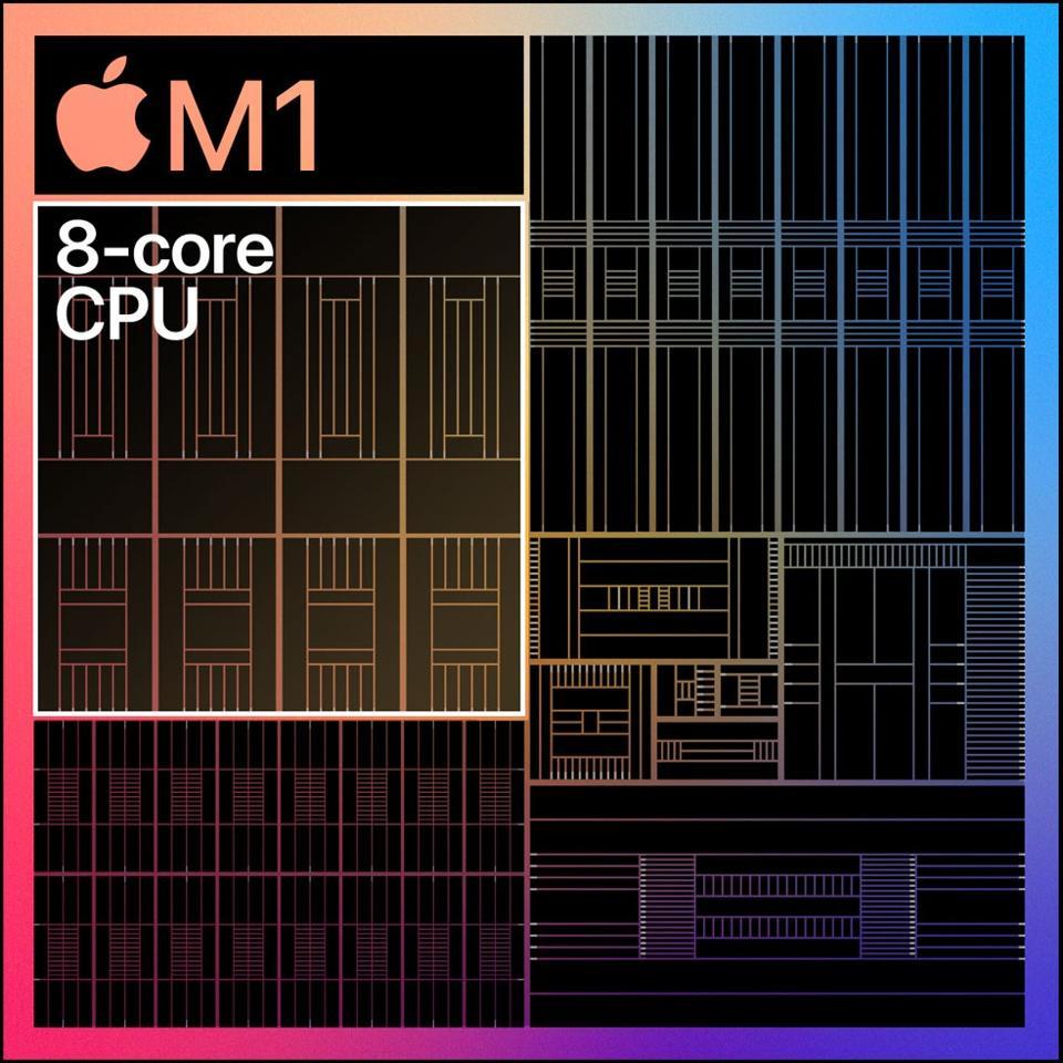 Apple M1 processor.