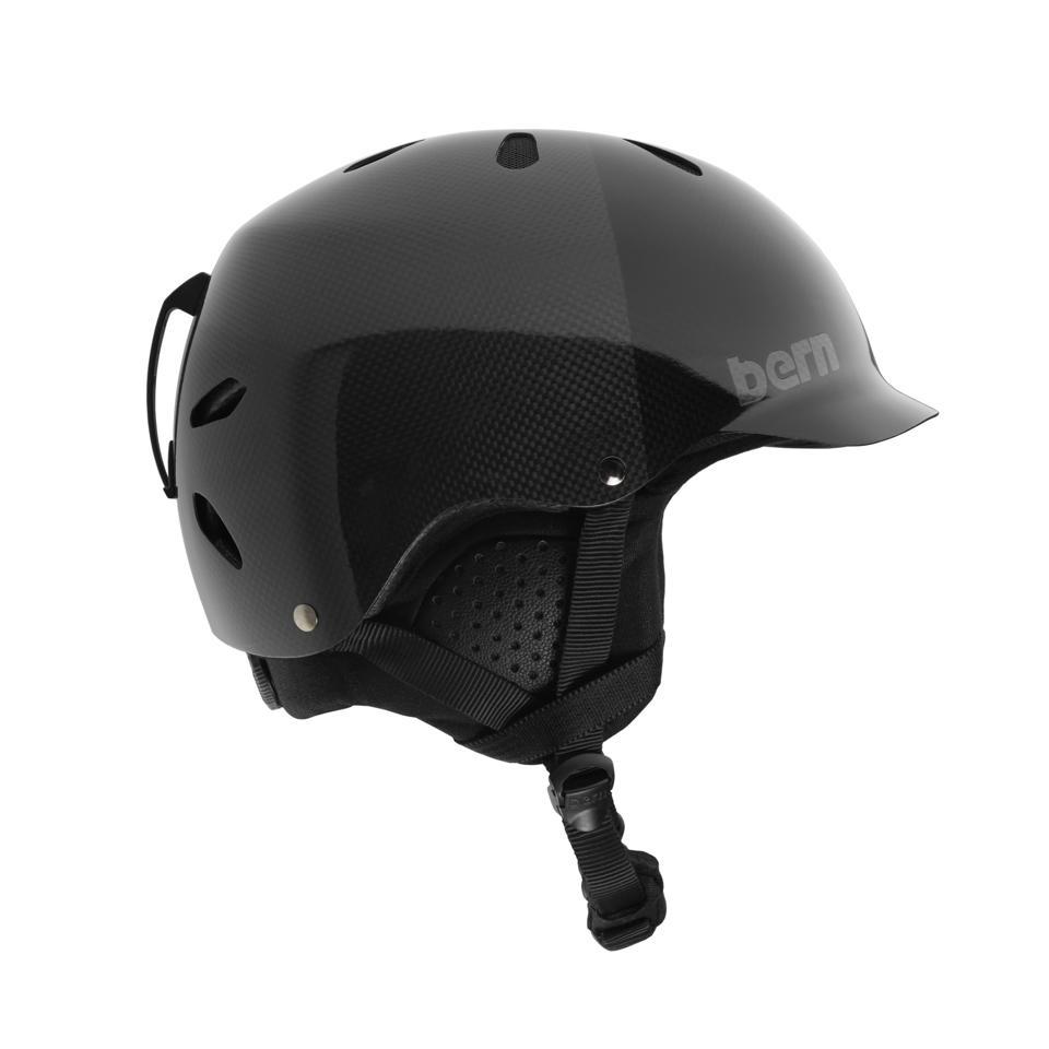 Bern carbon fiber helmet