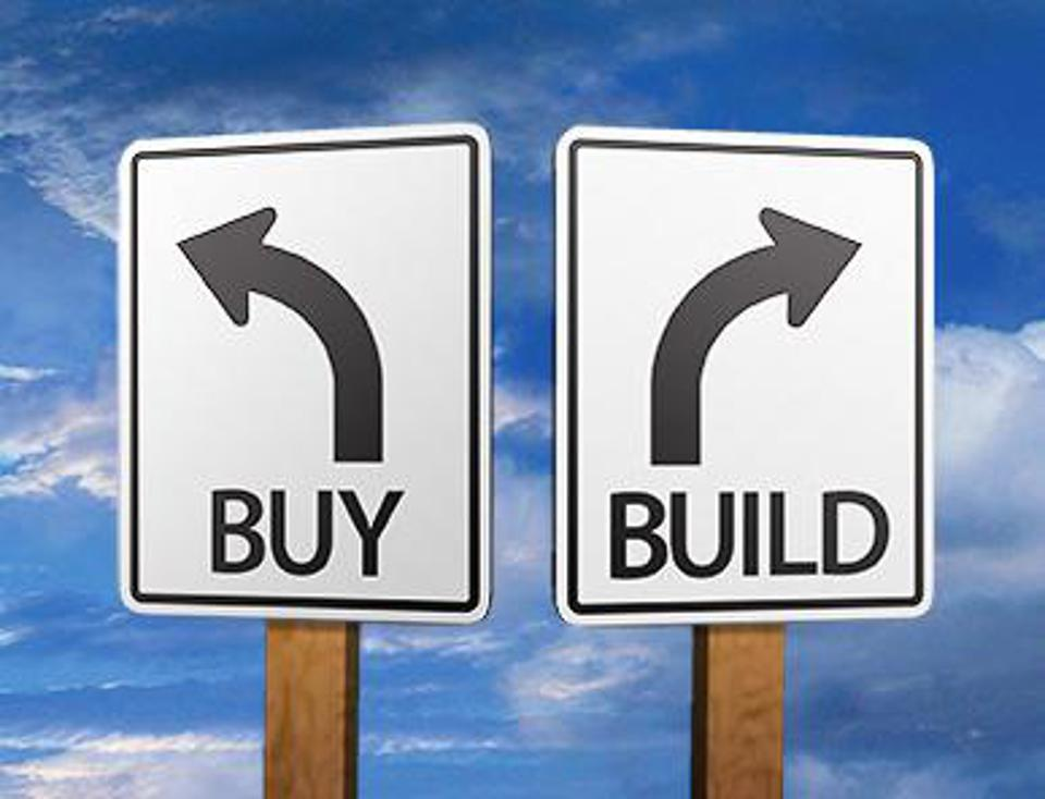 What should we do - buy or build?