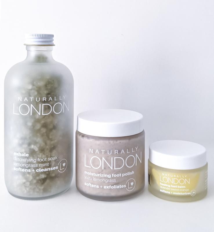 Foot Care = Self Care with this all-inclusive spa pedicure kit from Naturally London.