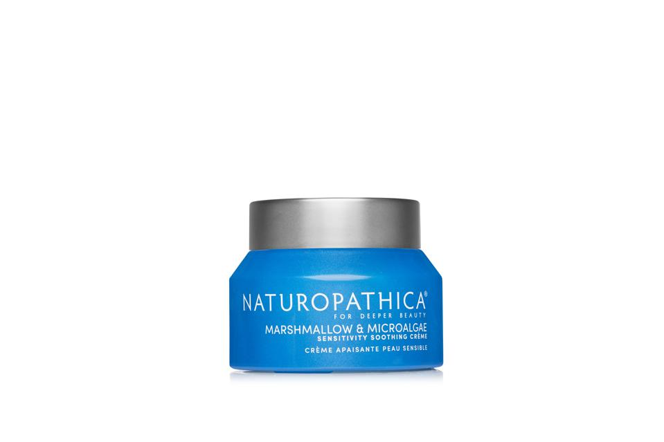 Naturopathica's new Marshmallow & Microalgae Sensitivity Soothing Crème, from the Sensitive Skin Collection.