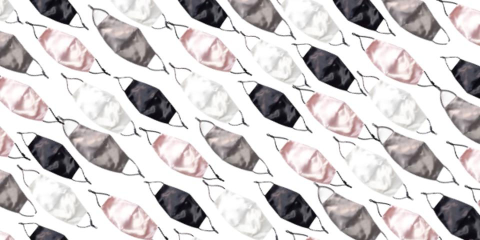 Silk face masks by CILQUE