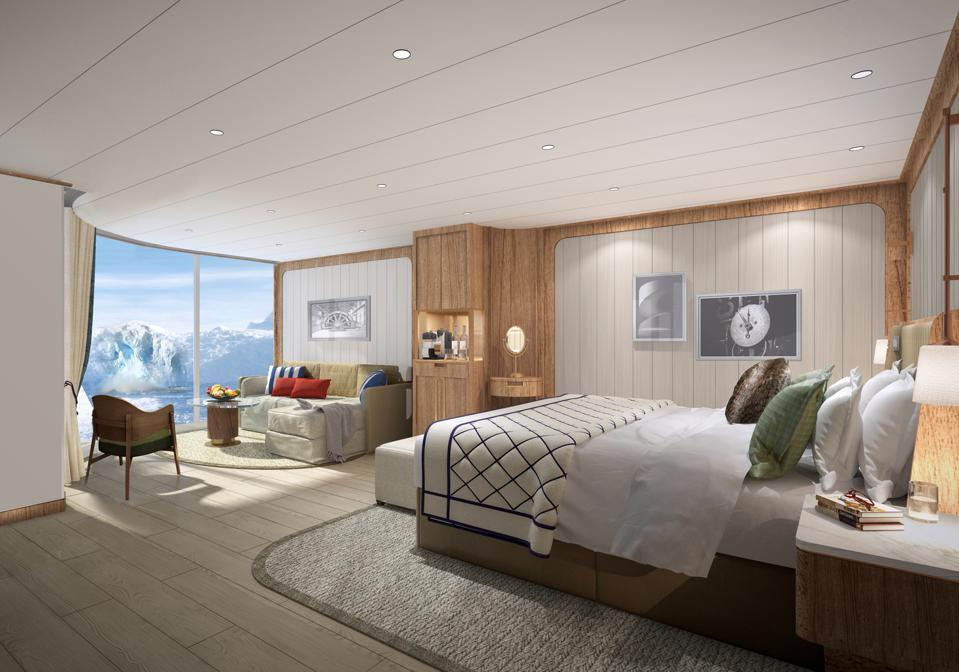 Seabourn expedition ships Panorama Veranda Suite