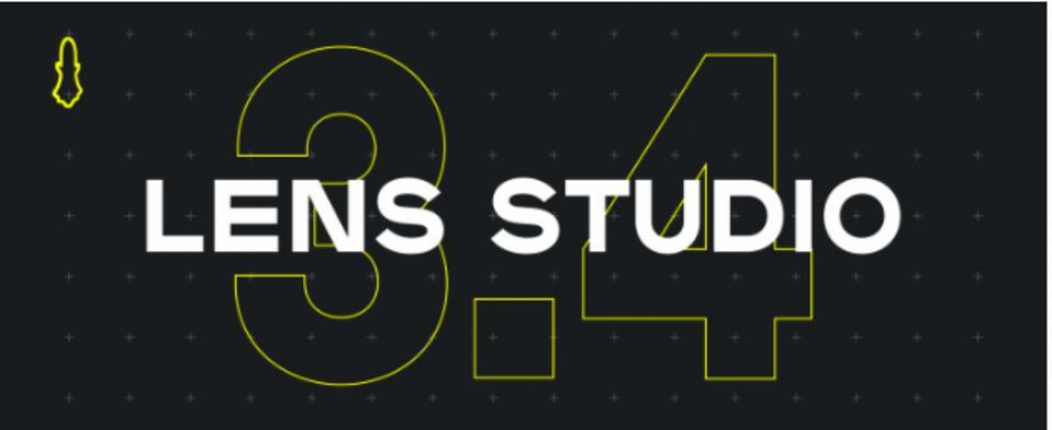 Snap announces new 3.4 Lens Studio update.