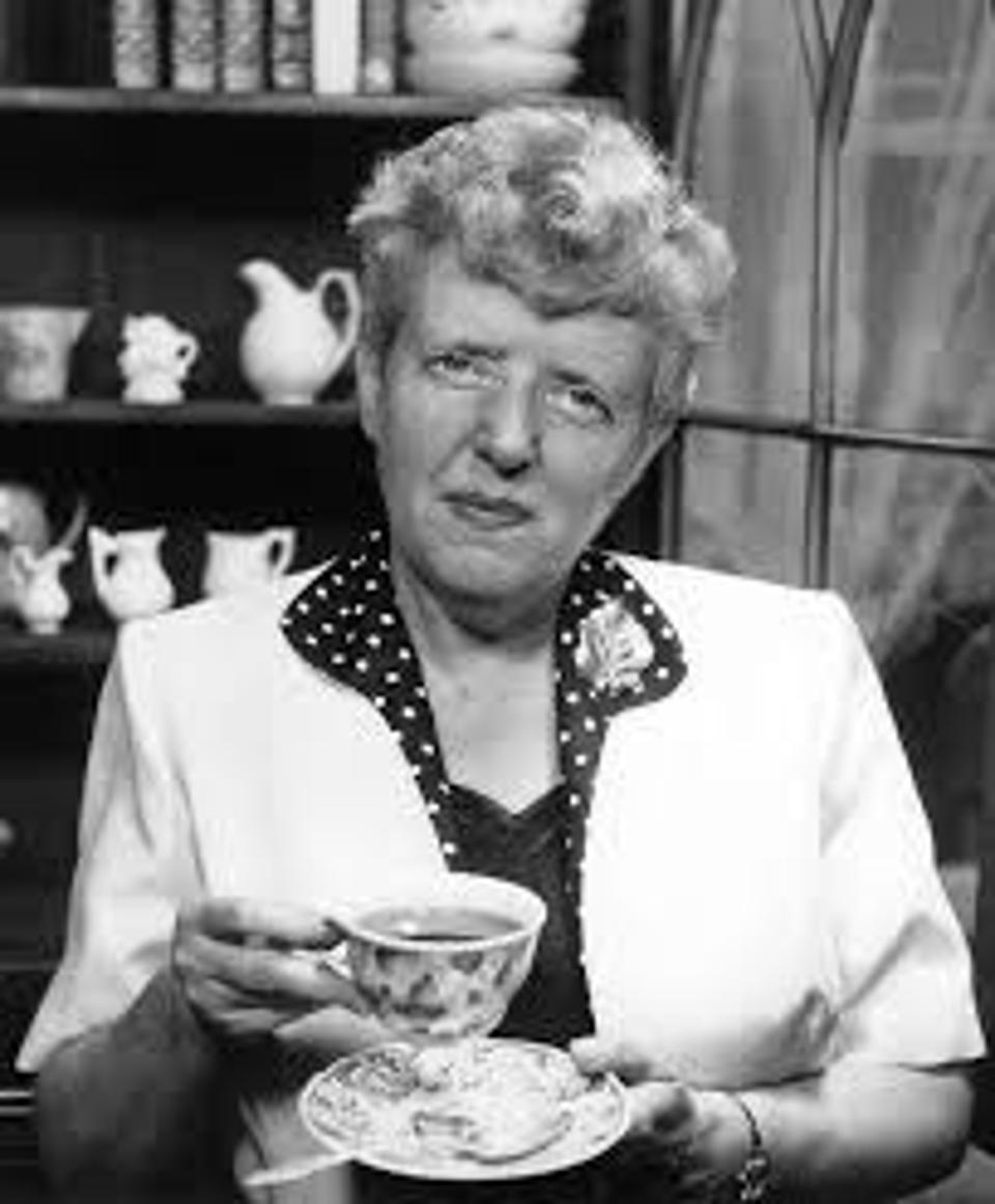 The late Ruth Campbell Bigelow, Founder and former CEO, Bigelow Tea Company (date unknown)