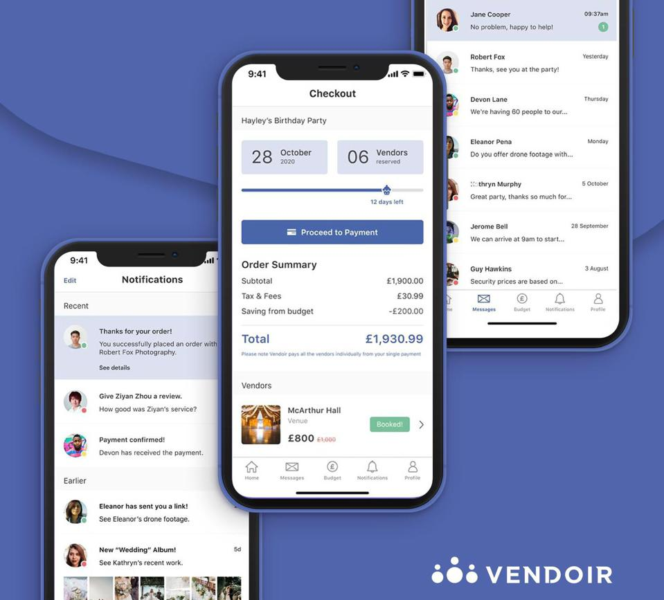Vendor app