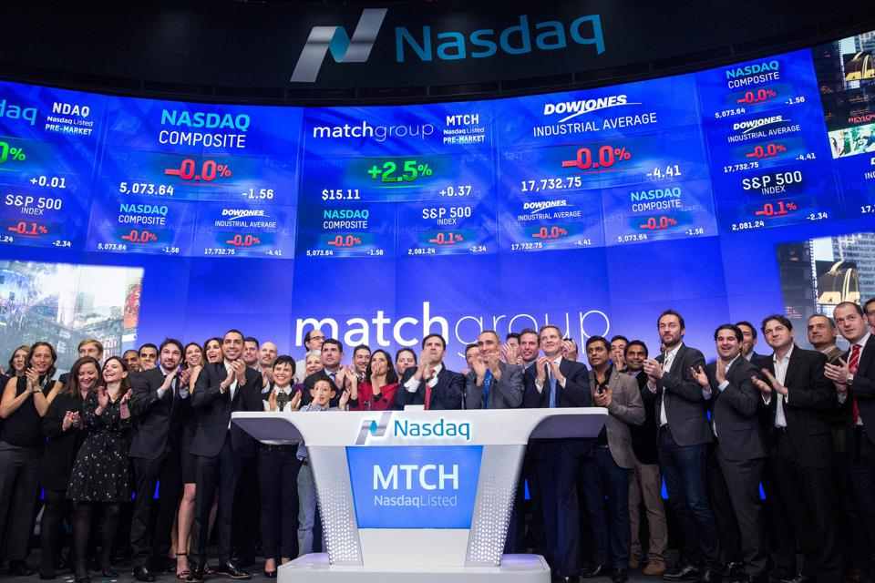 Match.com Celebrates IPO At NASDAQ