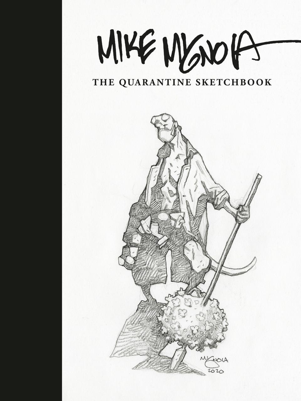 ″Mike Mignola: The Quarantine Sketchbook″ cover
