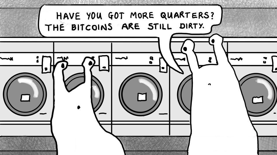 A joke about washing Bitcoins